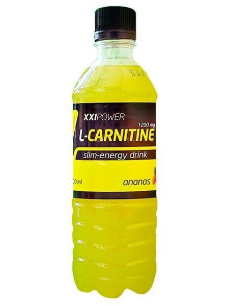 IRONMAN™ XXI Power™ Напиток L-Карнитин Ананас  (500 мл)