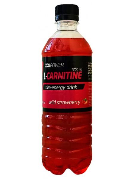 IRONMAN™ XXI Power™ Напиток L-Карнитин Земляника (500 мл)