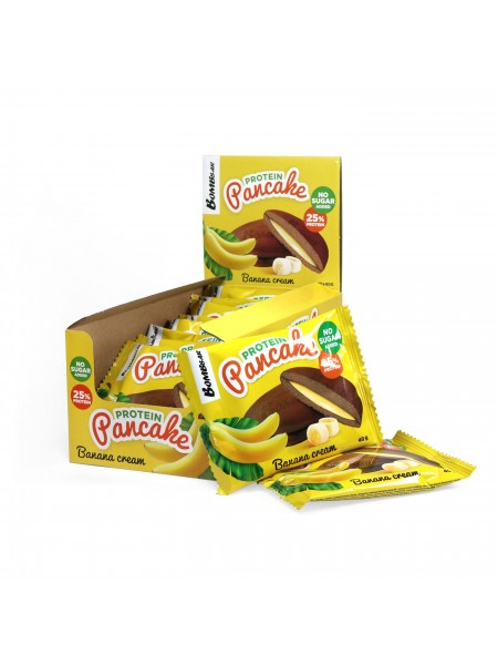 Bombbar Панкейк с начинкой Банановый крем (40гр)