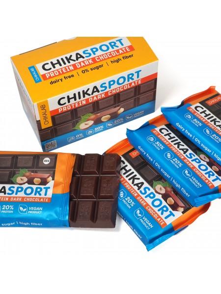 ChikaLab Шоколад тёмный с фундуком  (100 г)