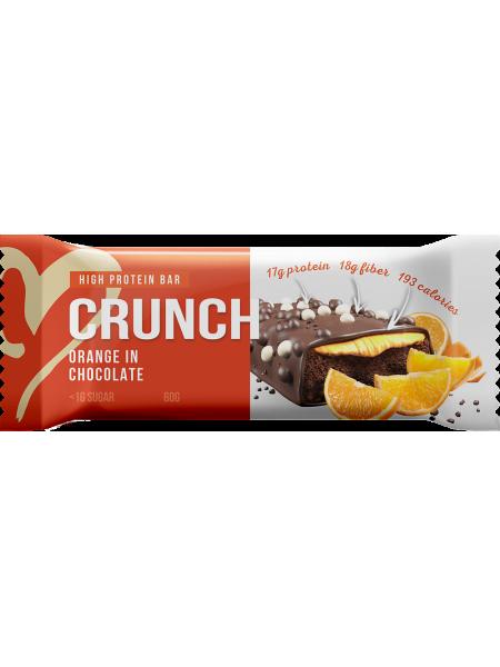 BootyBar Протеиновый батончик Кранч Шоколад с апельсином (60г)
