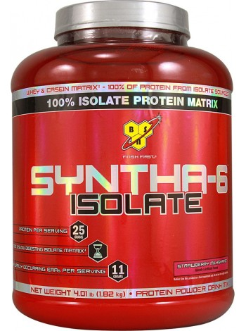 1198, BSN Syntha-6 Isolate (1820 gramm), , 4 200 RUB, Syntha-6 Isolate , BSN , Протеины