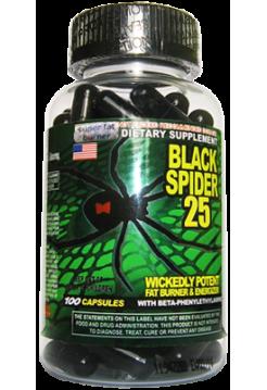 Cloma Pharma Black Spider (100 капсул)