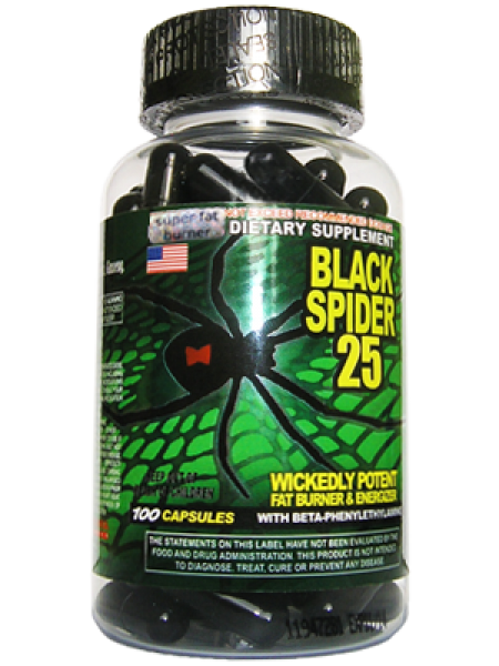 Cloma Pharma Black Spider (100 капсул) Original