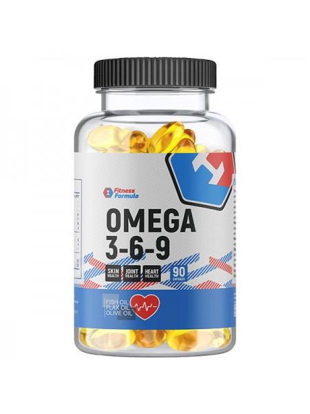 Fitness Formula Omega 3-6-9 (90 капсул)