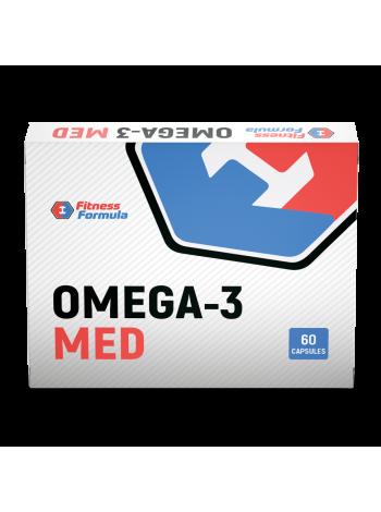 Fitness Formula Omega 3 MED (60 капсул) , , 490 RUB, Omega 3 MED, Fitness Formula, Полиненасыщенные жирные кислоты