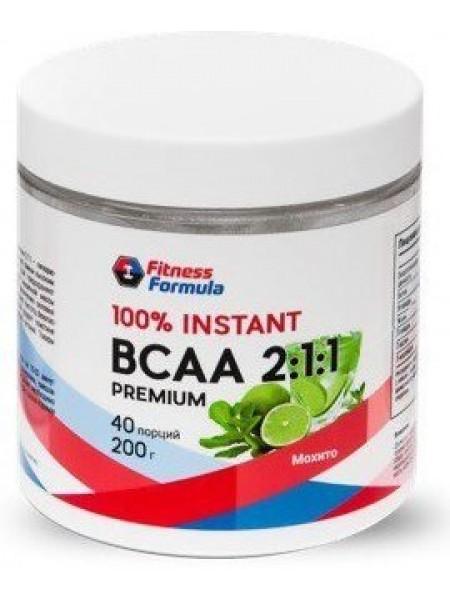 Fitness Formula 100% BCAA 2:1:1 Premium (40 порций)