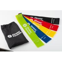 Fitness Formula Фитнес резинки (эспандер для фитнеса) - 5 шт повышенной прочности  + сумочка