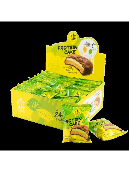 Fit Kit Protein cake Лимон- Лайм (70 g)