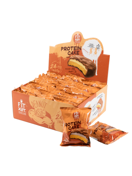 Fit Kit Protein cake Арахисовая паста (70 g)