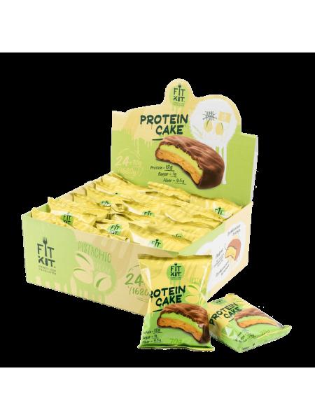 Fit Kit Protein cake Фисташковый крем  (70 g)