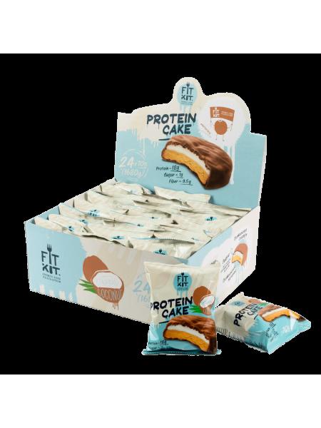 Fit Kit Protein cake Тропический кокос (70 g)