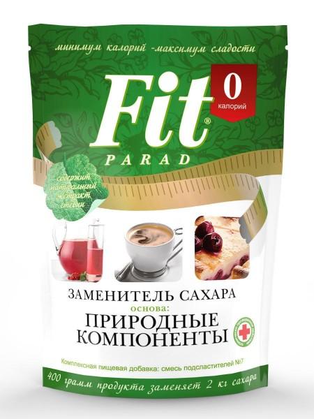 Fit Parad - Заменитель сахара  (400 грамм) №7 Дой-Пак