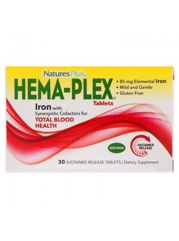 Nature's Plus Hema-Plex (30 таблеток) , , 1 100 RUB, Hema-Plex, , Витамины и минералы