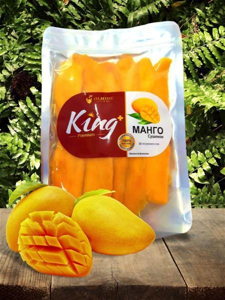 Olmish Манго сушеный натуральное 100%, Вьетнам, без сахара (1000 g)