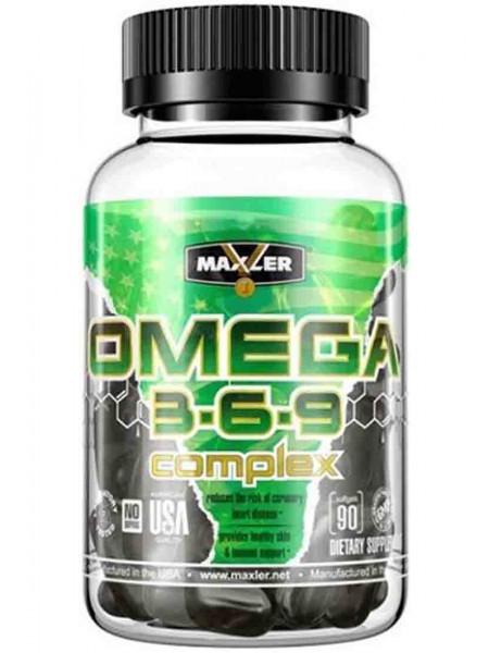 Maxler Omega 3-6-9 Complex (90 caps)
