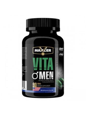 138, Maxler VitaMen (90 таб), , 1 100 RUB, VitaMen 90 таб, Maxler , Витамины и минералы