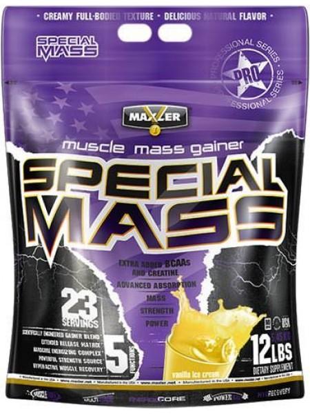 MAXLER SPECIAL MASS GAINER (5.4 кг) - потеря товарного вида , скидка !
