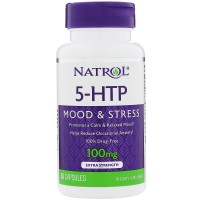 Natrol 5-HTP MOOD & STRESS (5-гидрокситриптофан) 100 mg (30 tabs)