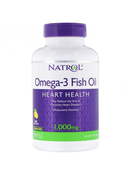 Natrol Omega 3 Fish Oil 1000 мг (150 caps)