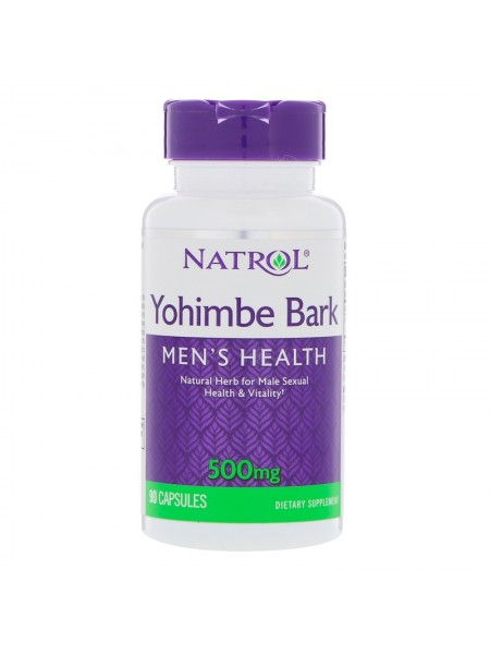 Natrol Yohimbe Bark 500 mg (90 caps)