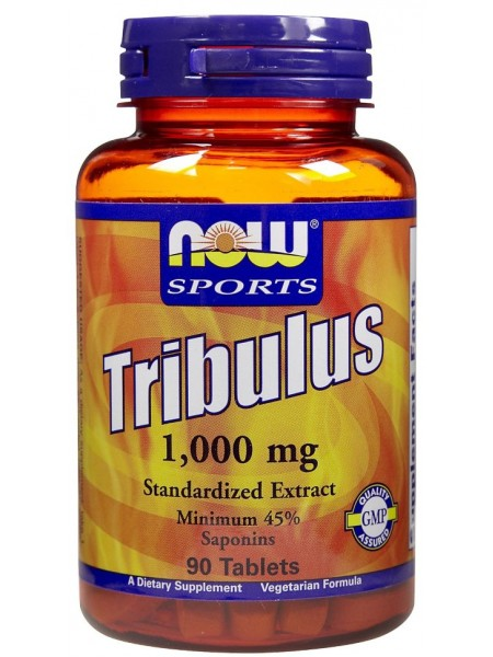 NOW Foods Tribulus 1000mg (90 таб )