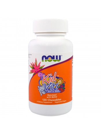 NOW Foods Kid Vits™ (120 tabs) , , 750 RUB, Foods ADAM , NOW Foods, Витамины и минералы