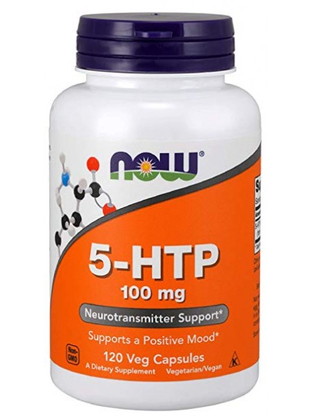 NOW 5-HTP 100 mg (120 caps)