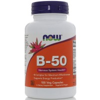NOW Foods B-50 Complex (100 caps)