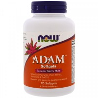 NOW Adam Superior Men's Multi Softgels (90 мягких гель капсул)