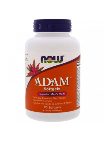 NOW Foods ADAM Superior Men's Multi Softgels (90 мягких капсул)  , , 1 800 RUB, ADAM Superior Men's Multi Softgels, ,