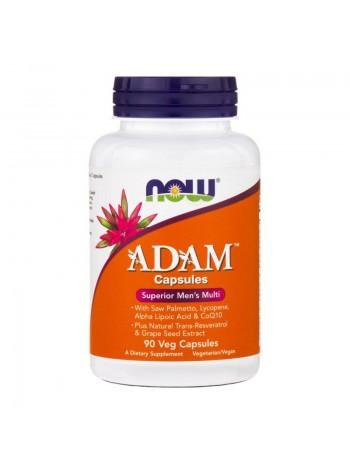 NOW Adam Superior Men's Multi Vcaps (90 веганских капсул) , , 1 600 RUB, Foods ADAM , NOW Foods, Витамины и минералы