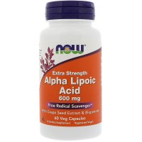 NOW Foods Alpha Lipoic Acid 600 мг (60 caps)