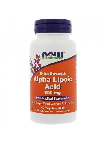 1344, NOW Foods Alpha Lipoic Acid 600 мг (60 caps) , , 1 320 RUB, Alpha Lipoic Acid 600 мг, NOW Foods, Биологически активные добавки (БАД)