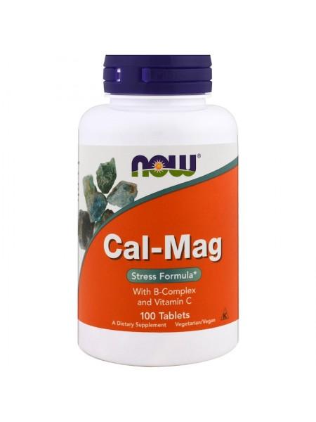 NOW Foods Calcium & Magnesium 500/250 (100 tabs)