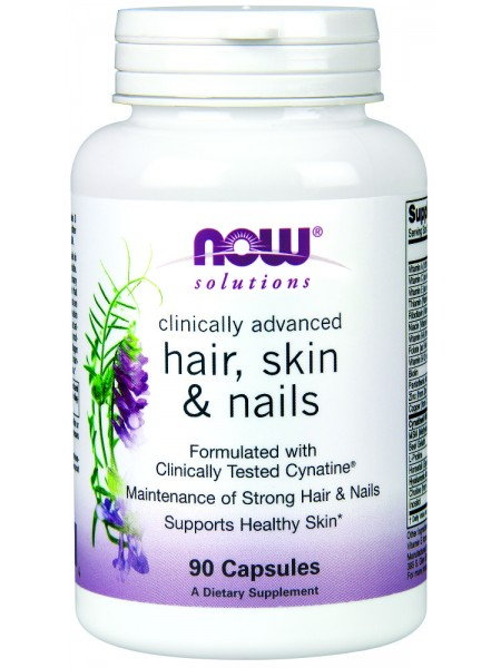 NOW Foods CLINICAL HAIR, SKIN & NAILS (90 caps)