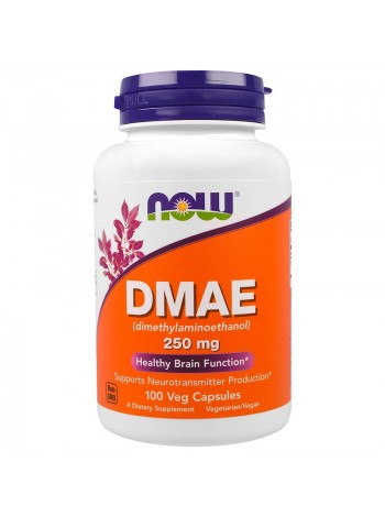 1322, NOW Foods DMAE 250  (100 caps) , , 1 000 RUB, DMAE 250 , NOW Foods, Улучшение сна