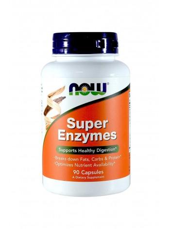 NOW SUPER ENZYMES (90 капс), , 700 RUB, SUPER ENZYMES , NOW Foods, Биологически активные добавки (БАД)