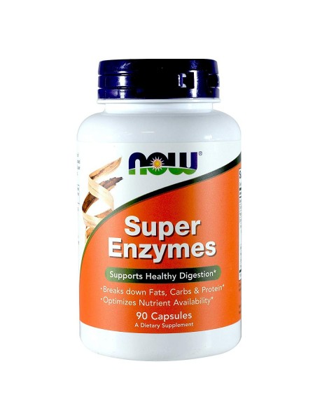NOW Foods SUPER ENZYMES (90 капс)