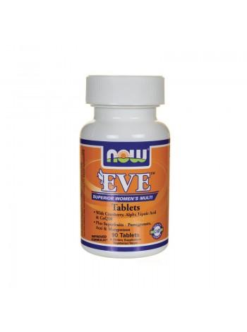 1333, NOW Foods Women's Multi EVE (120 капсул) , , 1 900 RUB, Foods Eve, NOW Foods, Витамины и минералы
