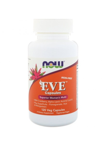 NOW Foods Women's Multi EVE (120 капсул)