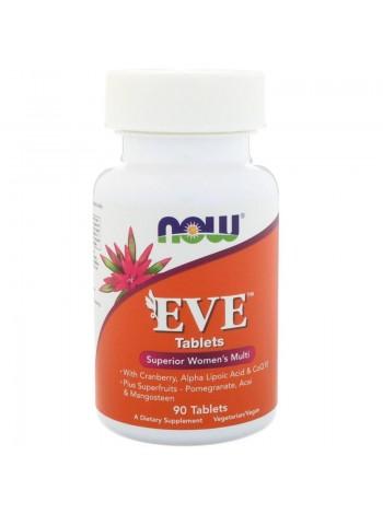 NOW EVE Women's Multi (90 tabs) , , 1 500 RUB, Foods Eve, NOW Foods, Витамины и минералы