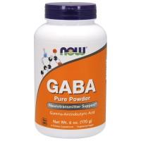 NOW GABA Pure Powder (170 г)