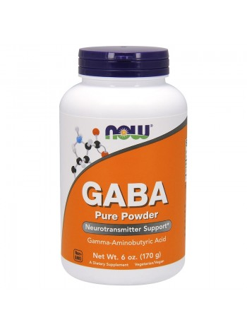 1341, NOW Foods GABA Pure Powder (170 г) , , 800 RUB, GABA Pure Powder 170 , NOW Foods, Аминокислоты