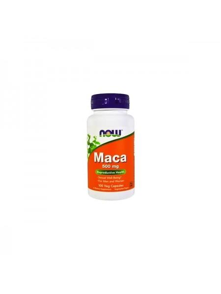 NOW Foods MACA 500 мг Необработанная мака (100 caps)