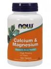 NOW Calcium and Magnesium в пропорции 2:1 (100 tabs) , , 800 RUB, Calcium and Magnesium, NOW Foods, Биологически активные добавки (БАД)