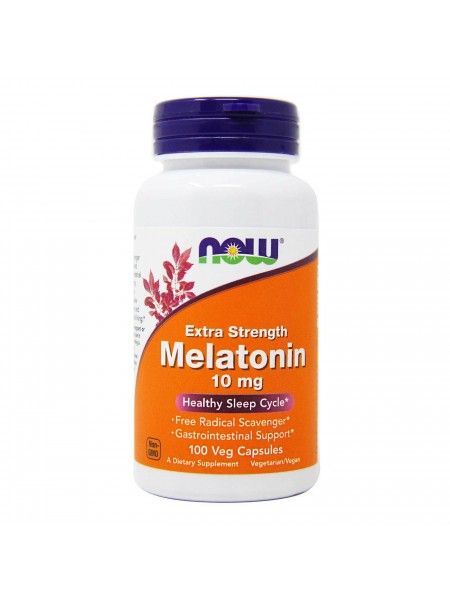 NOW Melatonin 10 mg (100 caps)