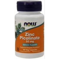 NOW Zinc Picolinate 50 mg (60 капс)