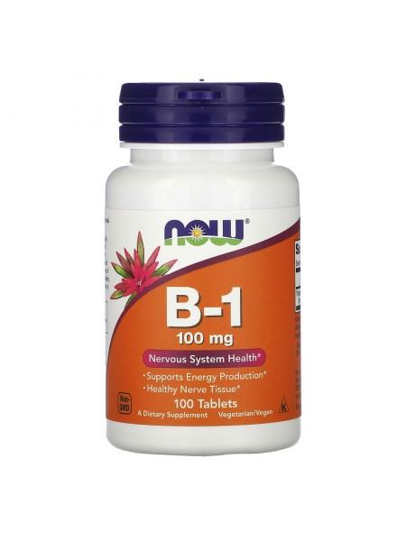 NOW B-1 100mg (100 tabs)