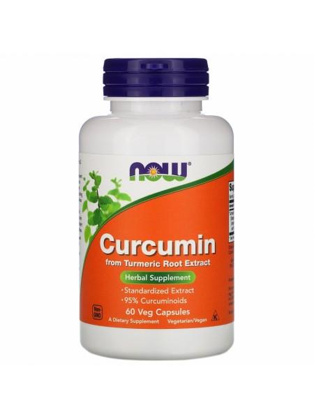 NOW Curcumin, Куркумин 665 мг - (60 капсул)